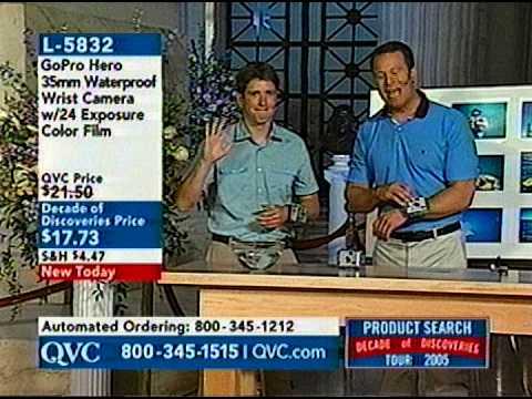 Nick Woodman On QVC (2005)