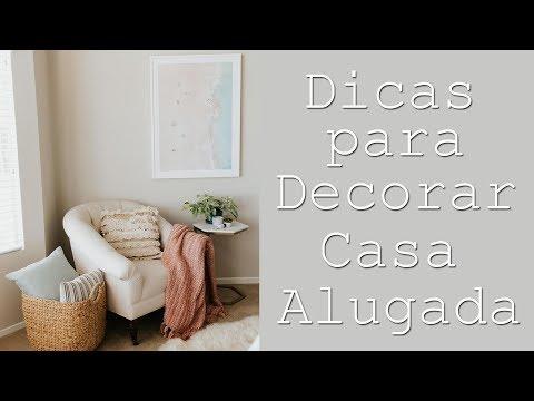 Dicas para Decorar Sala de CASA ALUGADA !   Por Maryane Nunes