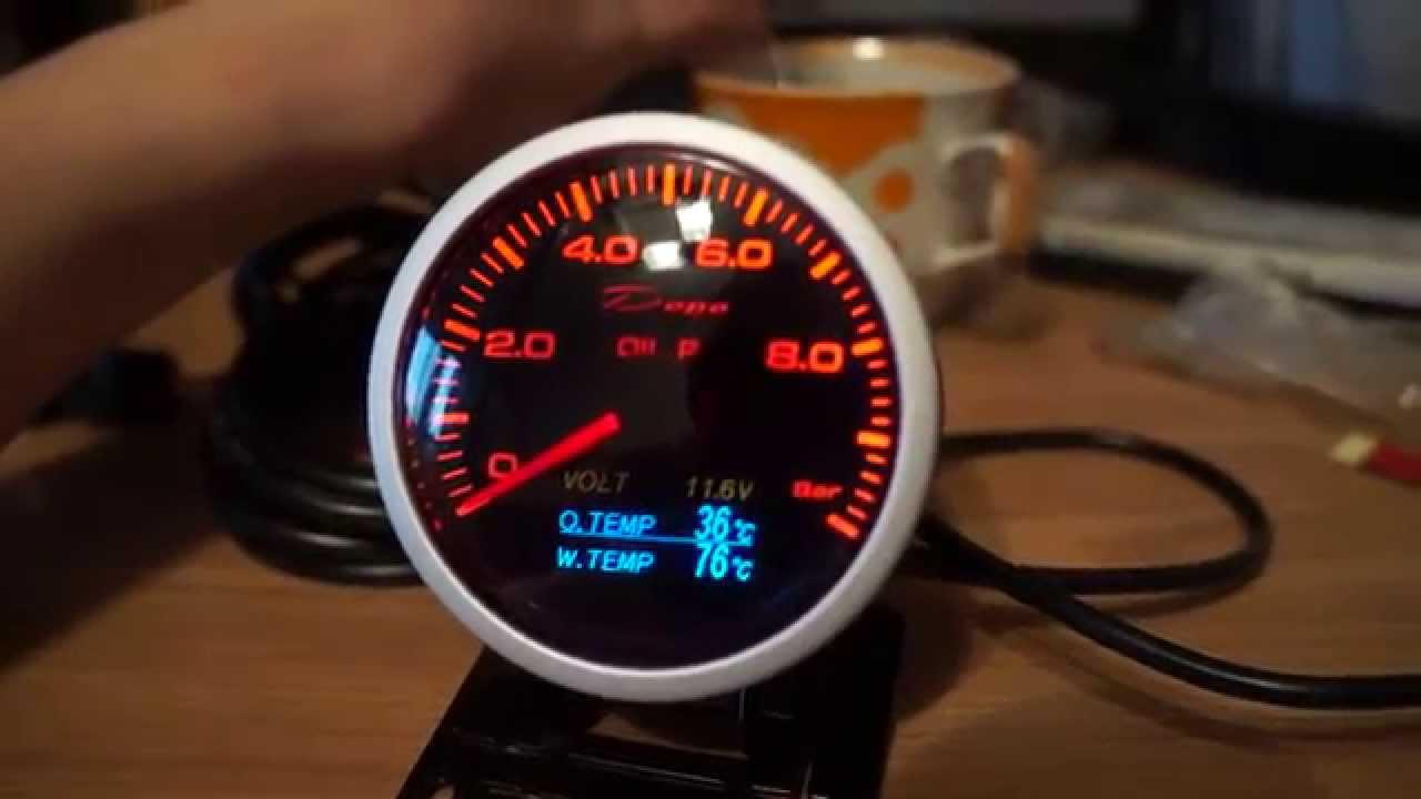 Oil Pressure Mechanical gauge