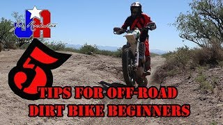 5 TIPS FOR DIRT BIKE BEGINNERS