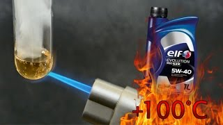 Elf Evolution 900 sxr 5W40 How clean is engine oil? Test above 100°C