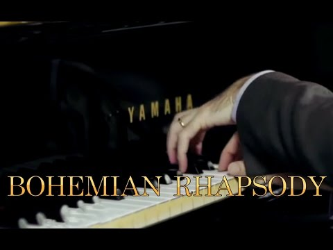 Queen - Bohemian Rhapsody - Rock Opera Piano Cover play by ear by Fabrizio Spaggiari - Milan
