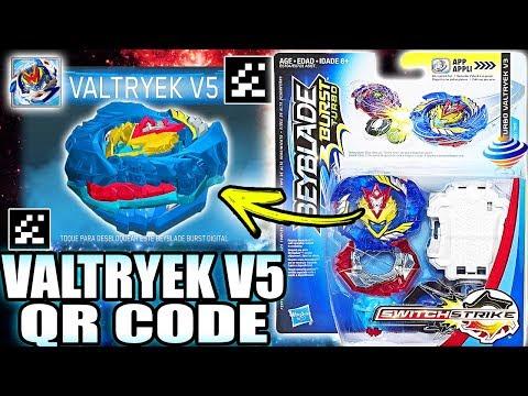 Valtryek V5 Qr Code All Valtryeks Beyblade Burst Turbo App Youtube