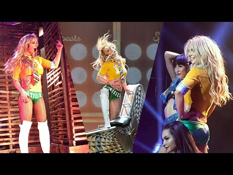 Britney Spears - Radar, MATM, I Love Rock N Roll, Gimme More (Piece of Me Show 2.0)