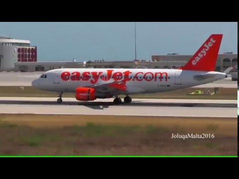 The Malta International Air Port Movements.[4K/UHD]