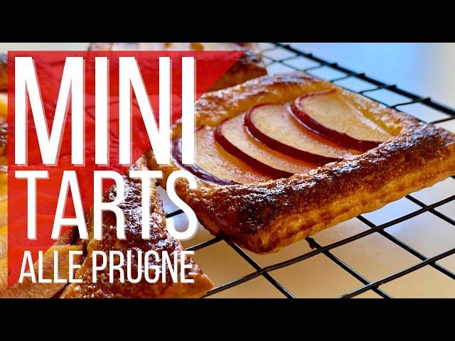 Mini tarts alle prugne - tartelette alla frutta velocissime