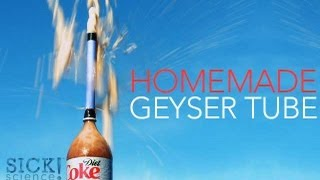 Homemade Geyser Tube - Sick Science #145