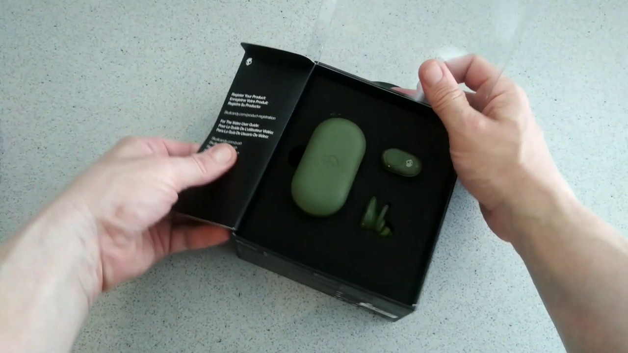 0b6a02d9041 First look at the Skullcandy Push True Wireless Earbuds in Elevated Olive. # skullcandy #truewireless