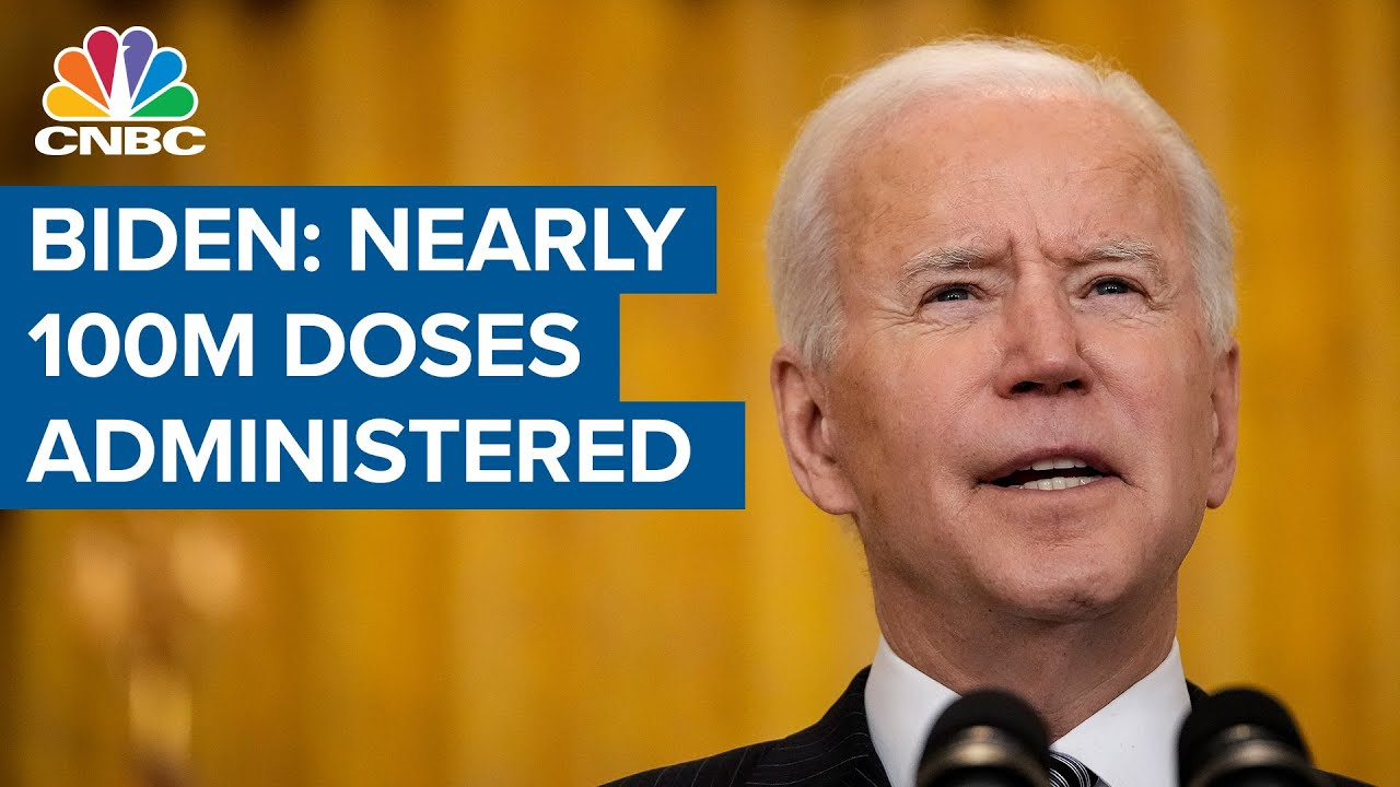 200 Million Shots In 100 Days: Biden Issues New Vaccination Goal