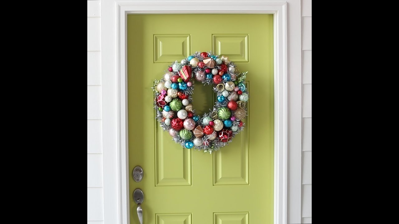 Christmas Door Decoration Ideas Youtube