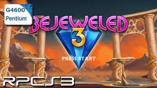 RPCS3 0.0.8-9528 - Bejeweled 3 - Pentium G4600 - Test