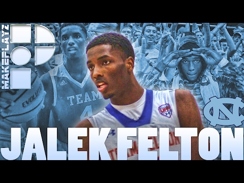 UNC Commit Jalek Felton is an Elite Playmaker | Raymond Felton's Nephew