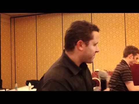 Tim Sykes singing karaoke at pennystocking conference 2011