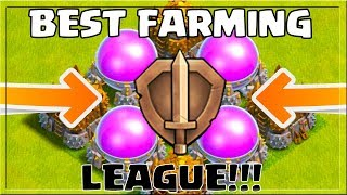 Farm 1.000.000 In 5 MINUTES - BEST Farming League October 2017 In Clash of Clans