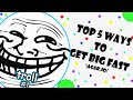 How To Get Big Fast on Agar.io (Best of 2018)