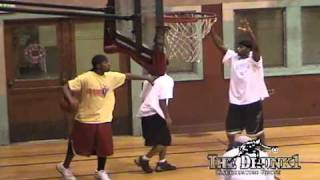 unprotected hoops presents intimidator starring in mafia streetball