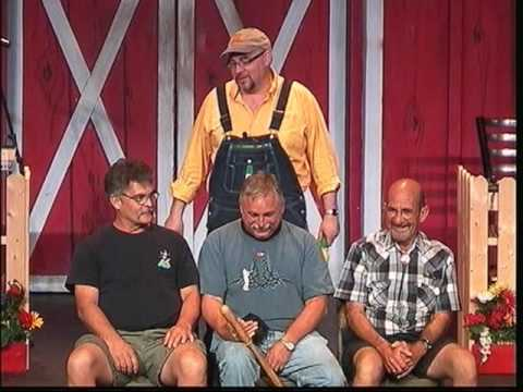 laughing guy 2 at Comedy Barn