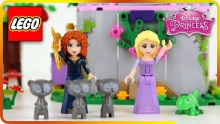 ♥ LEGO Disney Princess Rapunzel & Merida Creativity Tower Defense (Episode 1)