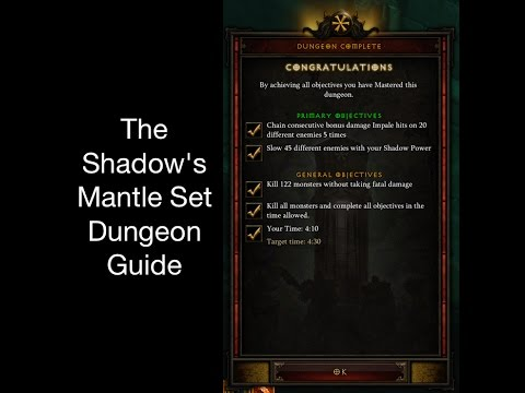 Shadow's mantle set dungeon