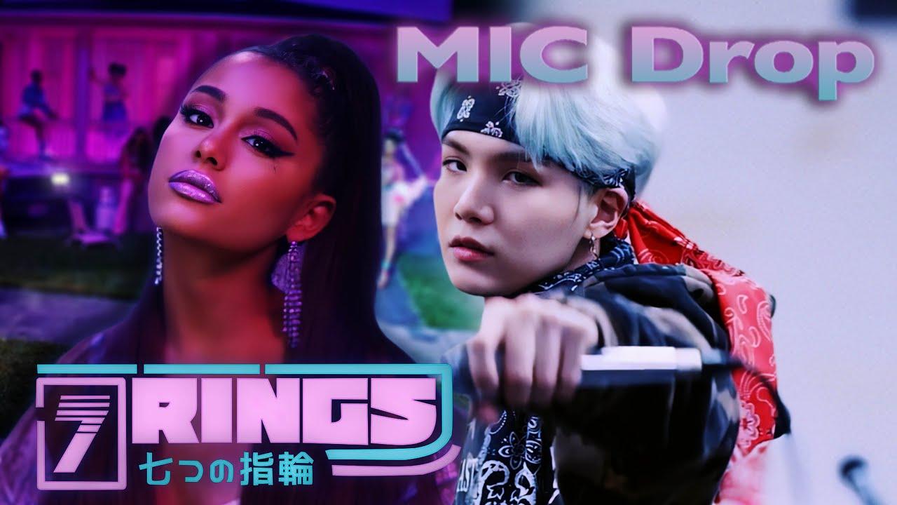 Download 7 RINGS x MIC DROP - Ariana Grande & BTS (Mixed Mashup)