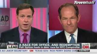 Jake Tapper Grills Eliot Spitzer For Never Being Charged Under His Own Prostitution Law