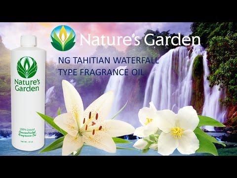 NG Tahitian Waterfall Type Fragrance Oil- Natures Garden
