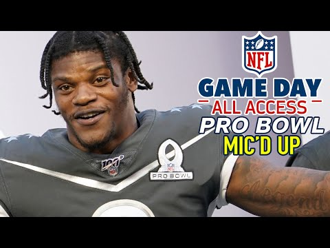 "NFL Pro Bowl Mic'd Up, ""Is that a real play? Nah? Cool."" 