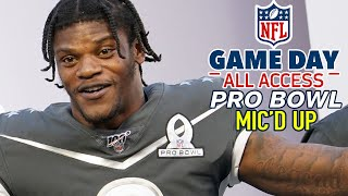 NFL Pro Bowl Mic'd Up, Is that a real play? Nah? Cool. | Game Day All Access
