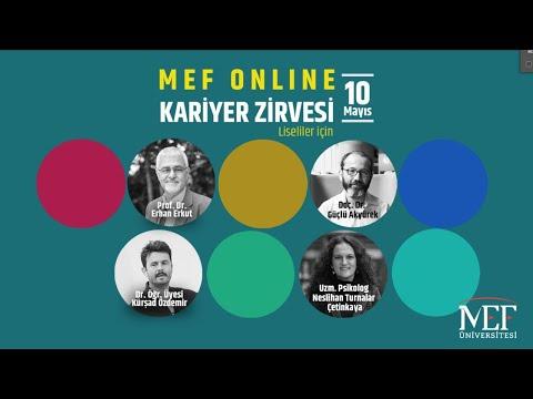 MEF Üniversitesi Online Kariyer Zirvesi/2020