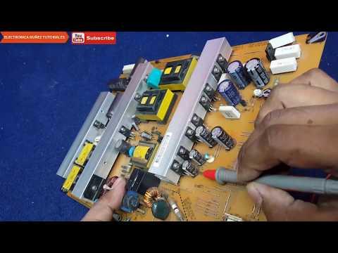 PLASMA LG DE 50 PULGADAS TARJETA Ysus Y Fuente de poder  dañada  VÍDEO 2  electrónica nuñez