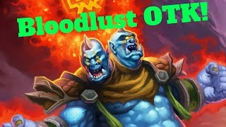 Bloodlust OTK! Southsea Deckhand Combo! [Hearthstone Game of the Day]