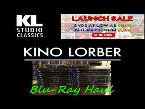 Blu-Ray Haul From Kino Lorber Sale ( 19 Titles )