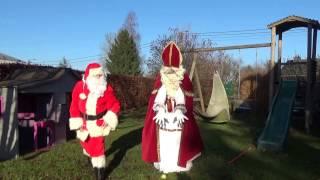 Chorégraphie de Saint-Nicolas et Père Noël