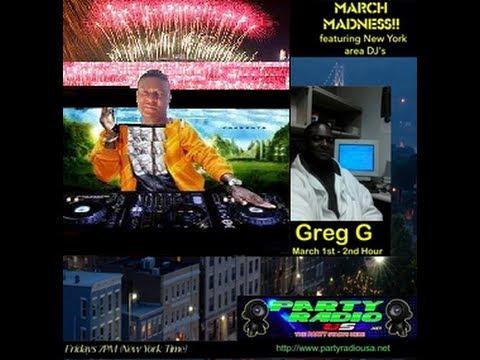 Party Radio USA - March 2013 Madness DJ Spotlight