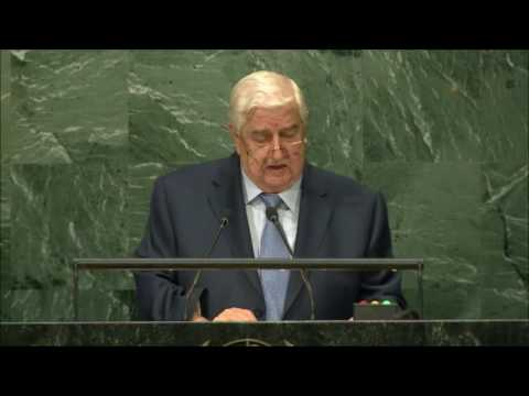 Walid Muallem-  Syria-  2016 71st UN General Assembly