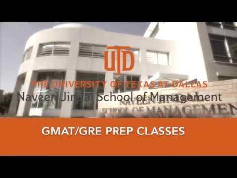 UT Dallas GMAT/GRE Prep Class