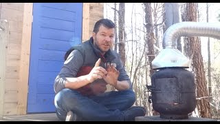 Outdoor Propane Tank Wood Stove To Heat Your Home