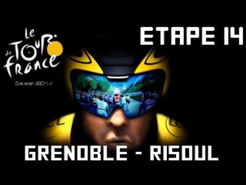 Tour de France 2014 [PS4]  | Etape 14 : Grenoble - Risoul [HD] [Fr]