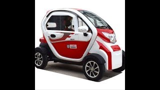 #4 wheel cabin electric scooter#4 wheel  electric car#family use electric car