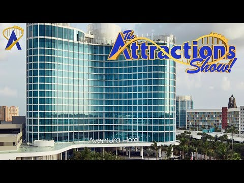 The Attractions Show! - Universal's Aventura Hotel; Disney memorabilia collector; latest news