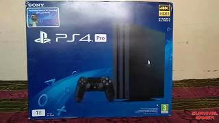 PS4 Pro 2018 Version 4K HDR Gaming 1 TB Unboxing Review in Hindi