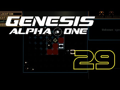 Warping to the next cluster  Genesis Alpha One #29