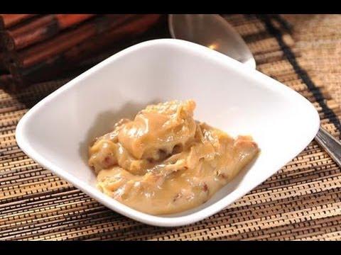 Dulce de leche con nuez recetas de postres recetas de for Canal cocina mexicana