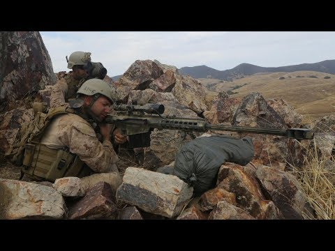 Арма 3 Тушино - Работа снайпера. Барретт M82.