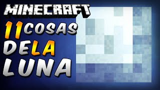 Minecraft - 11 Cosas Que No Sabías De La Luna - Rabahrex