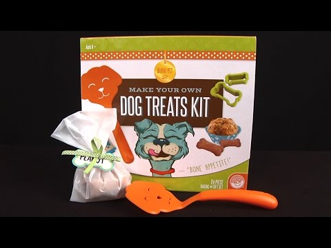 Make Your Own Dog Treats Kit From MindWare