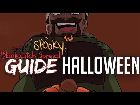 Get Ready for Halloween - SPOOKY Blackwatch Survival Guide | Overwatch Comic Dub thumbnail