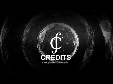 CREDITS  - Blockchain Platform With It's Own Cryptocurrency CS