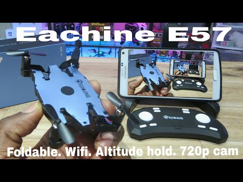 Фото Eachine E57. 720p Cam, wifi fpv. Review, flight