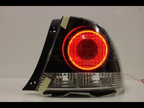 Toyota Altezza Fix --  Customize LED Tail Lights